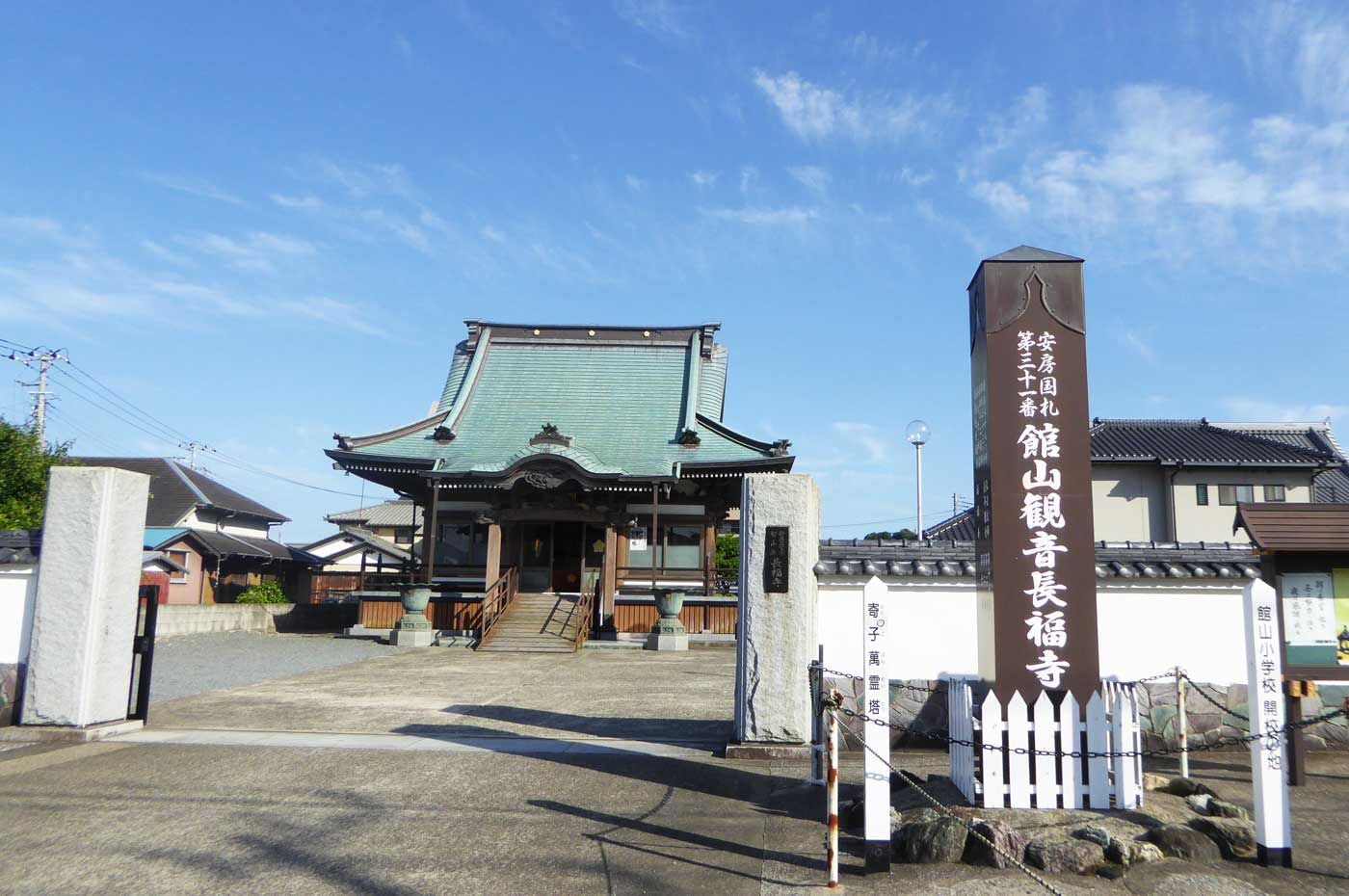 長福寺の観音堂の画像