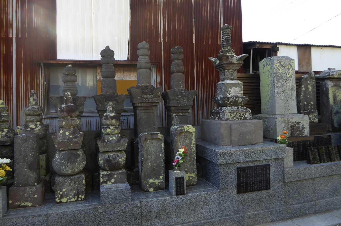 江戸時代初期の宝篋印塔の画像