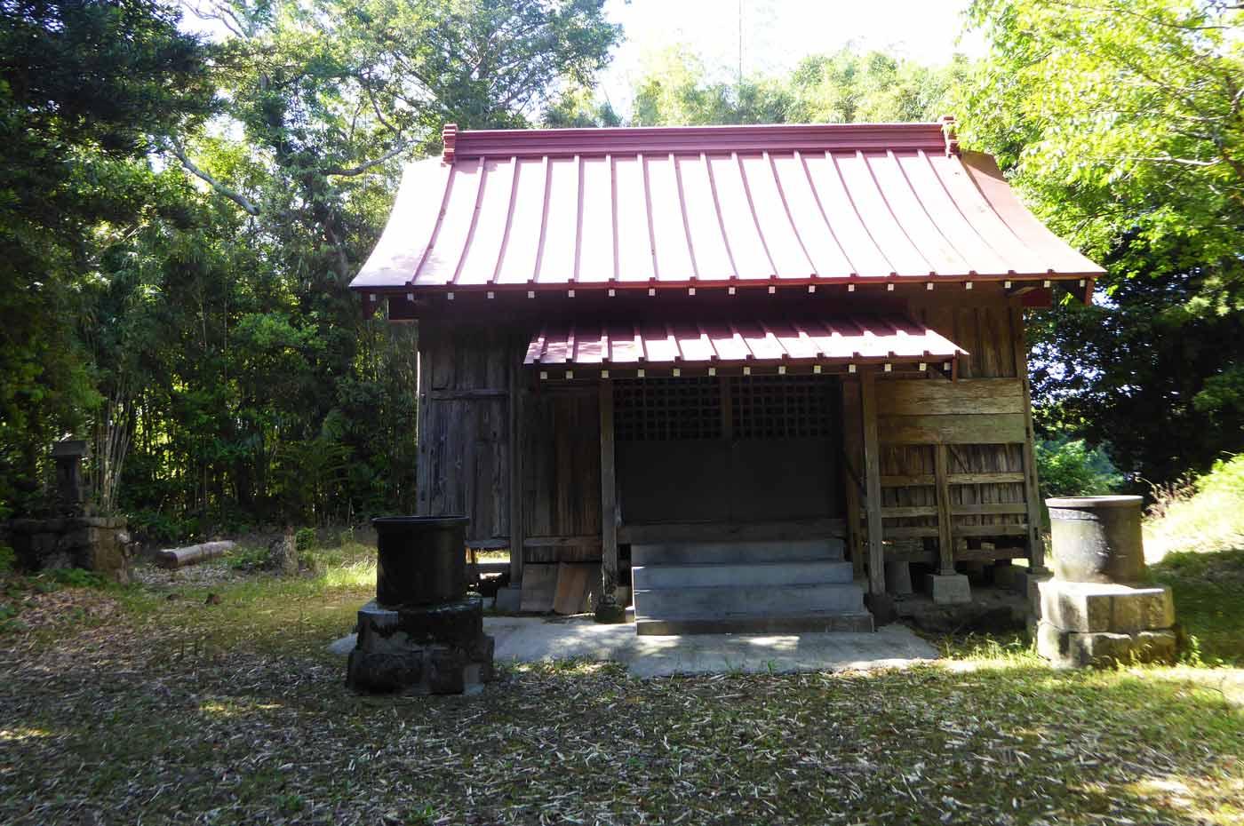 水岡神社拝殿の画像