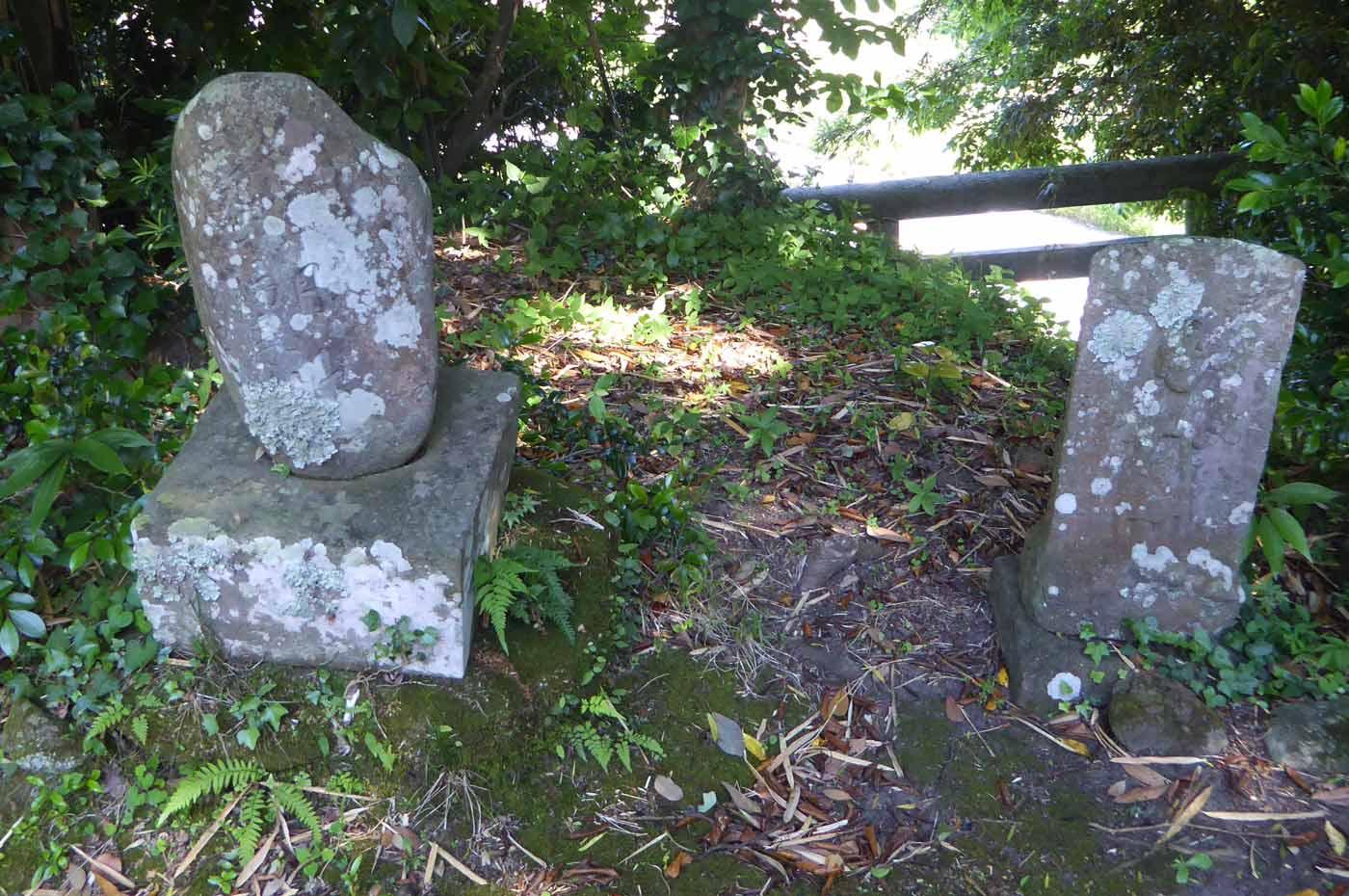 水岡神社石碑の画像