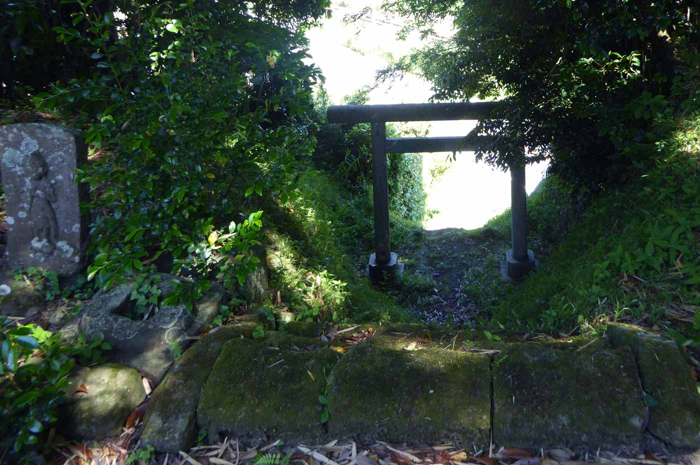 水岡神社の参道画像