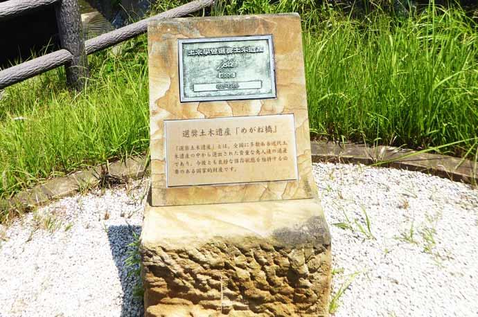 土木学舎選奨土木遺産の碑