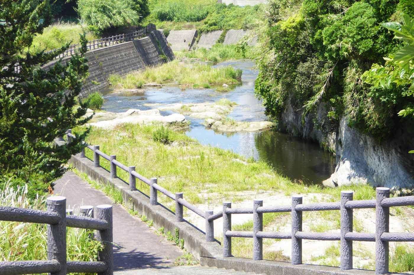 長尾橋周辺