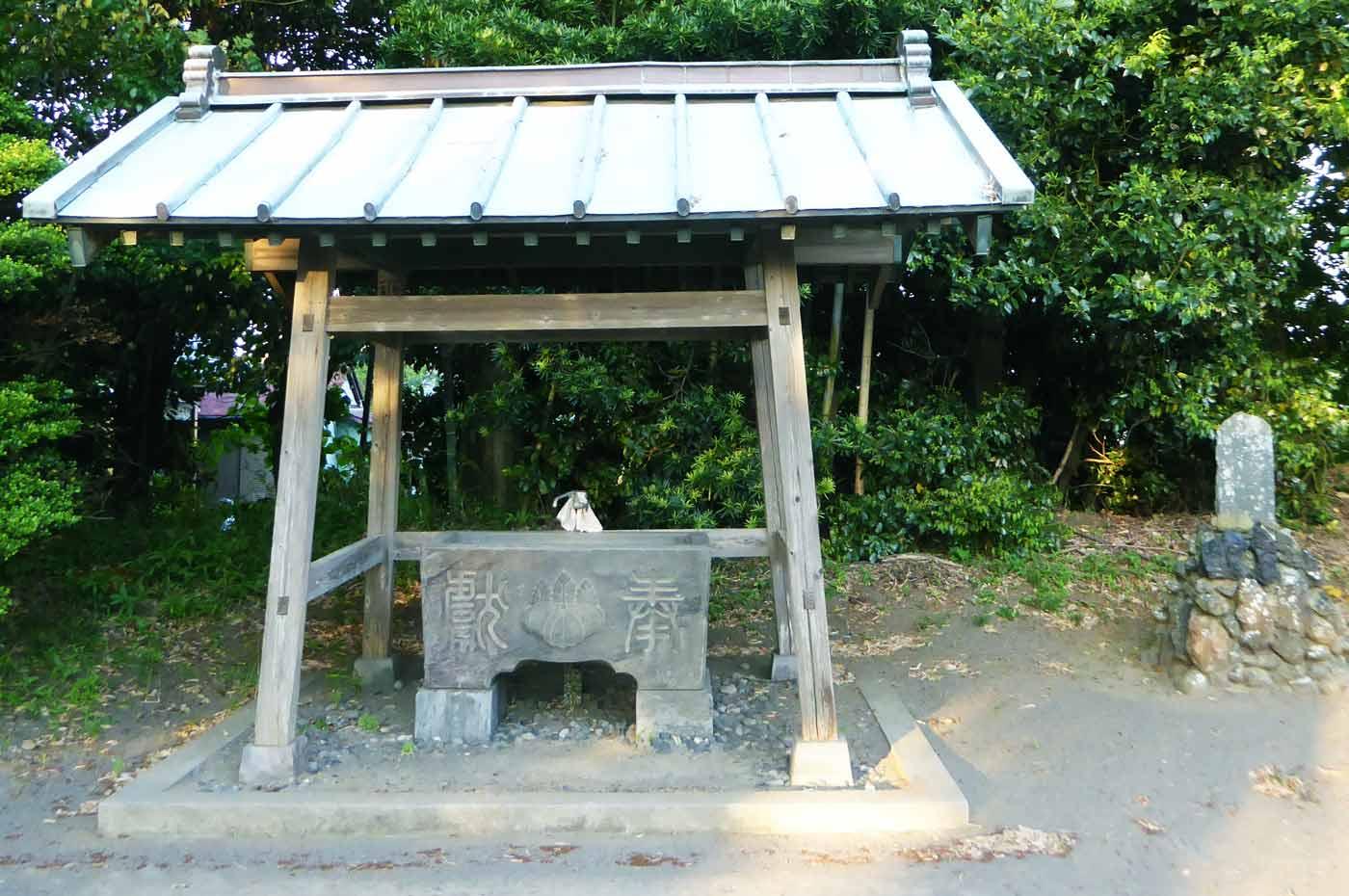 高皇産霊神社手水舎の画像