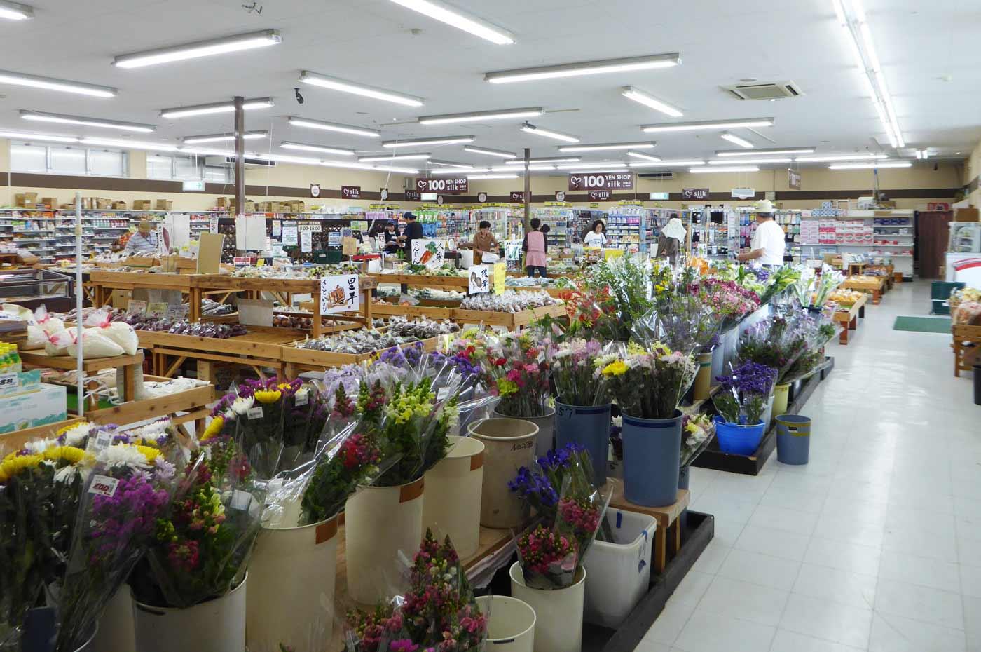 生花売り場の画像
