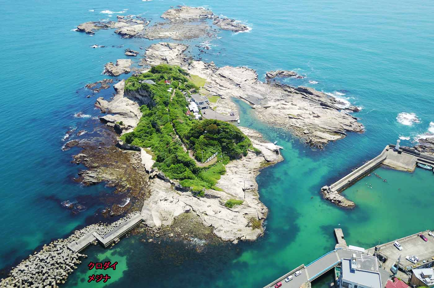 防波堤のポイントの画像