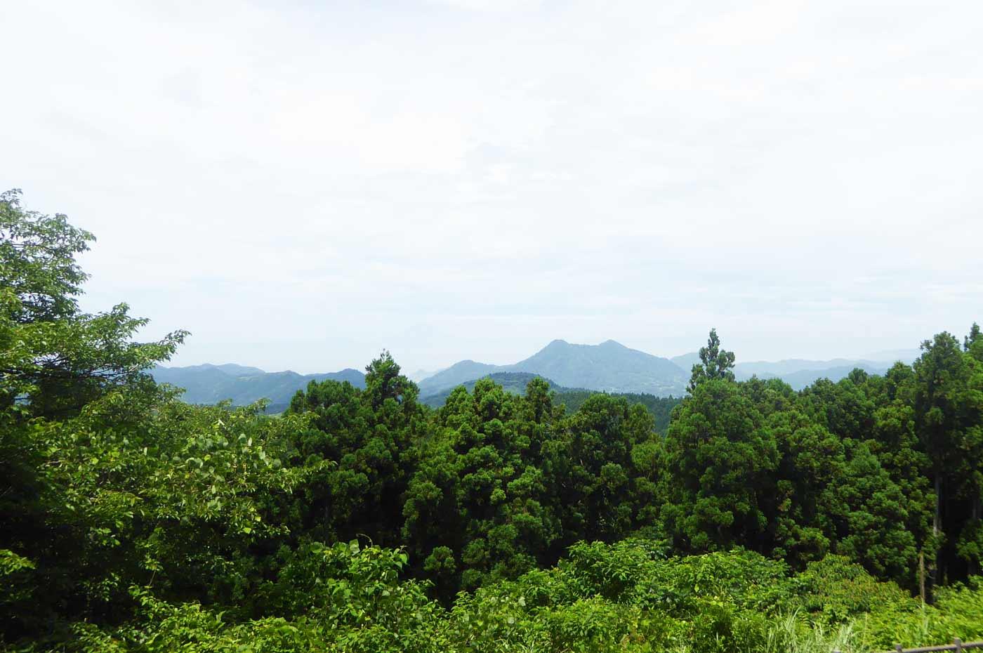 大日山頂上からの眺め