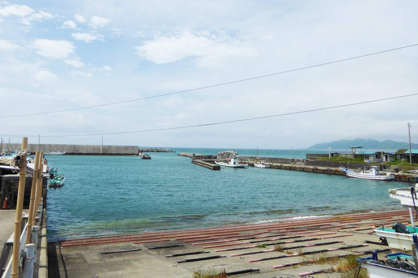 相浜漁港の風景