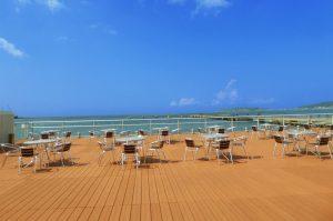 渚の駅たてやまから見た館山湾