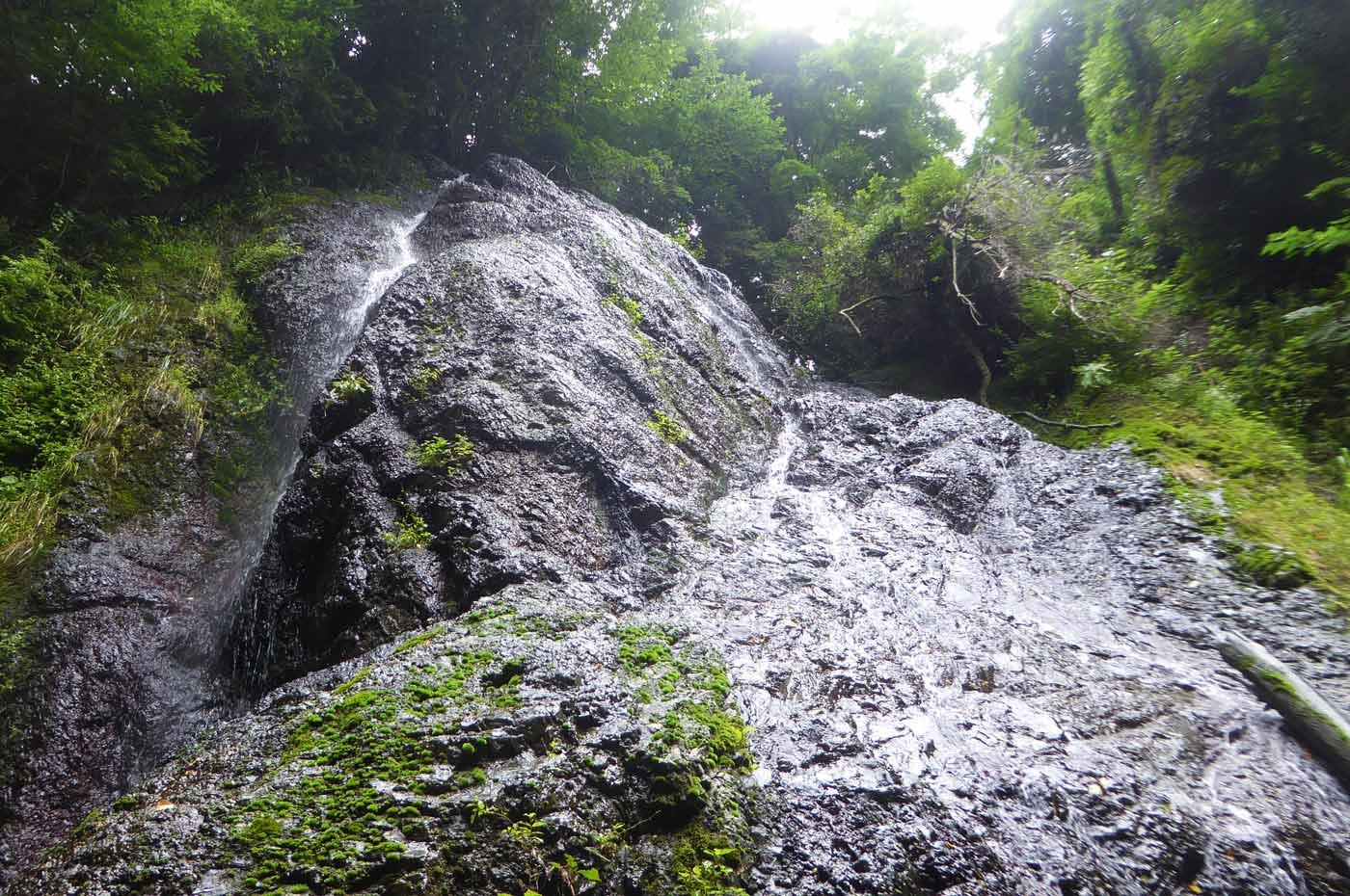 坊滝を下から撮影