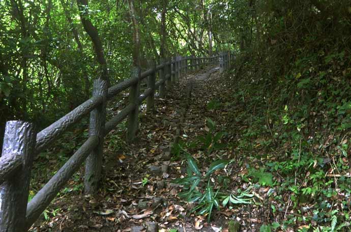 タイコ橋上の上り坂