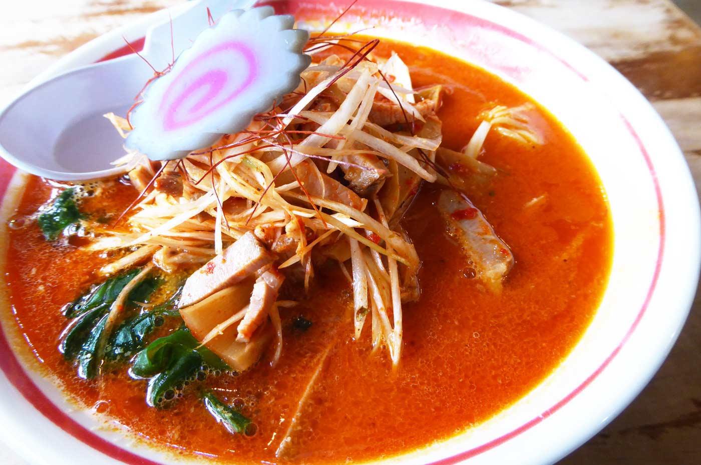 道端屋の担々麺の画像