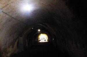 赤山地下壕の内部画像