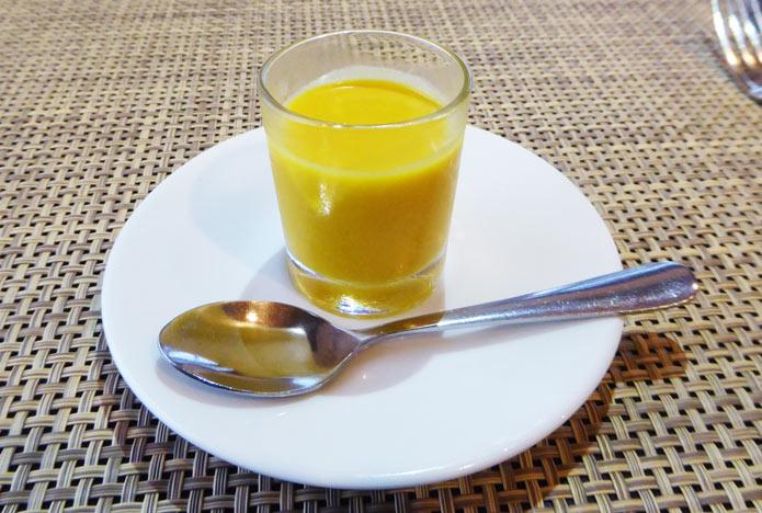 カボチャの冷製スープの画像