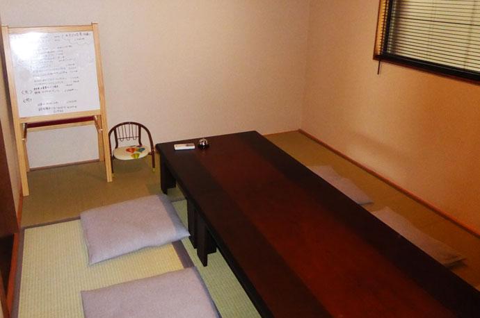 イルファーロの個室(和室)