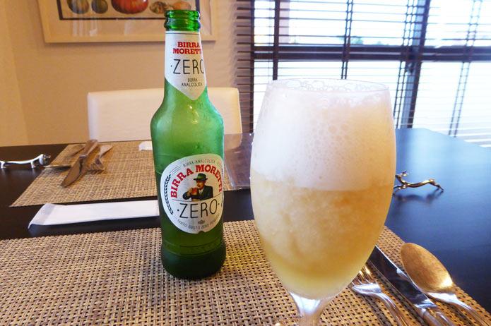 レモングラニータのビール