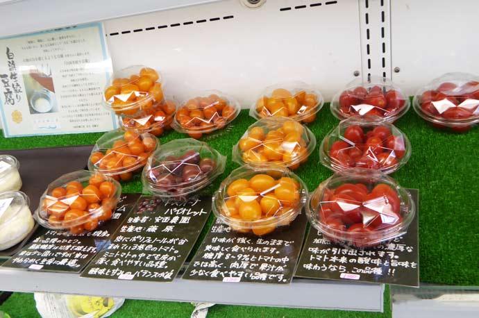 安西農園のトマト