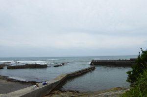 砂取港中央堤防のポイント