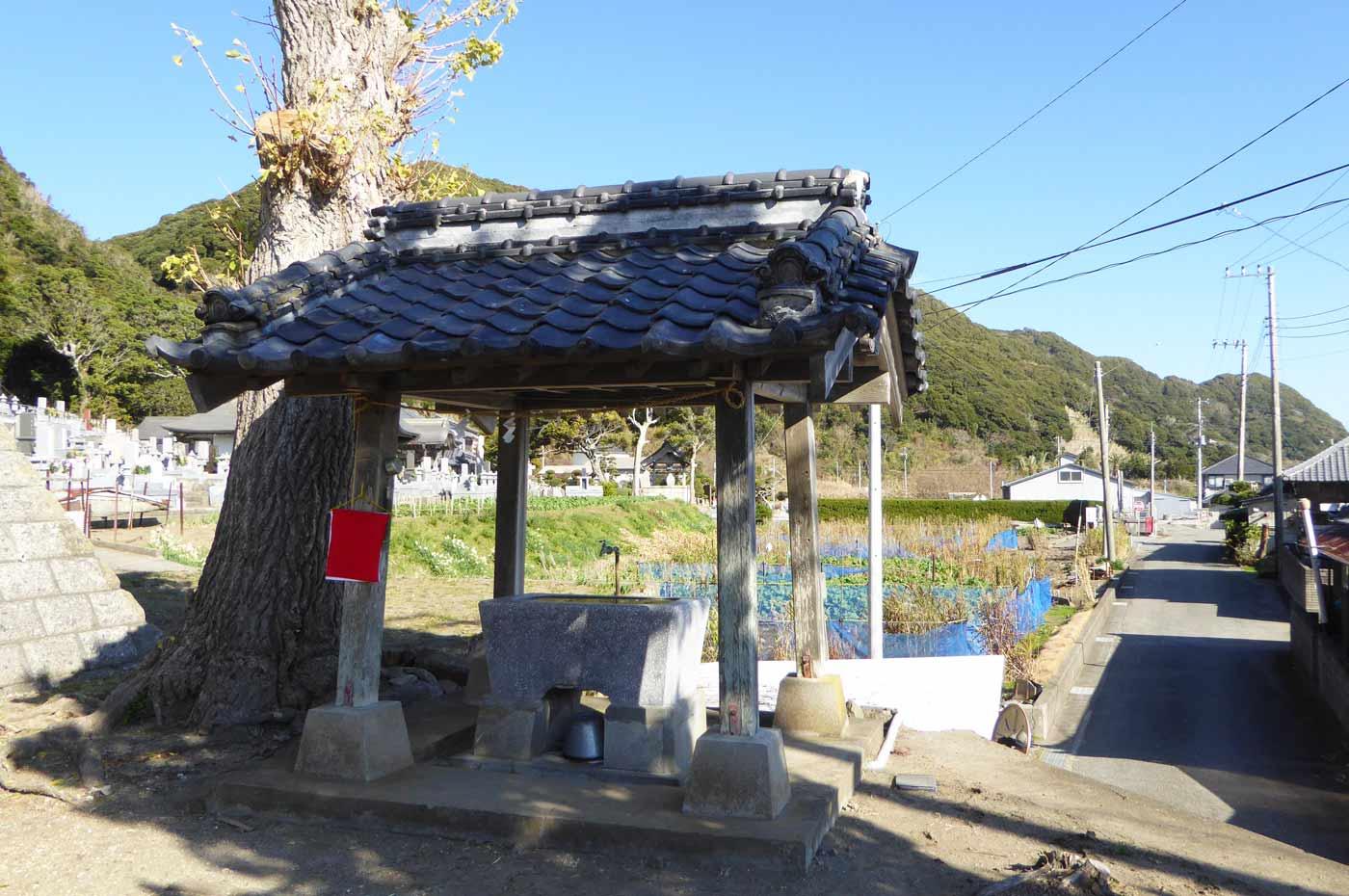 若宮八幡神社の手水舎の画像