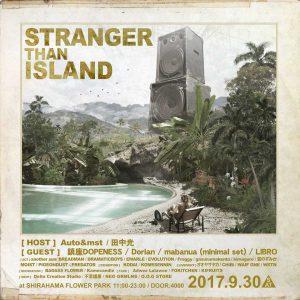 STRANGER THAN ISLAND 2017のチラシ