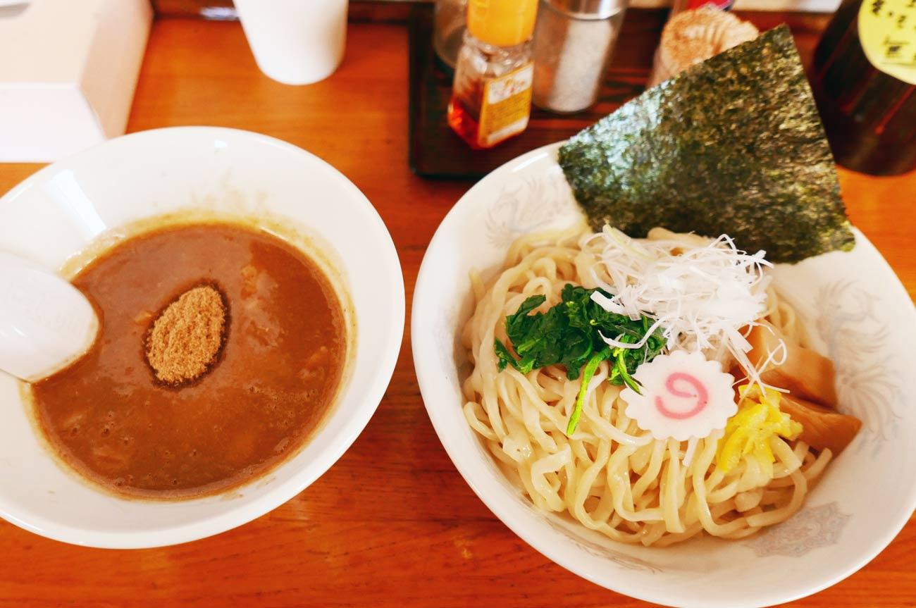 白えびすつけ麺の画像