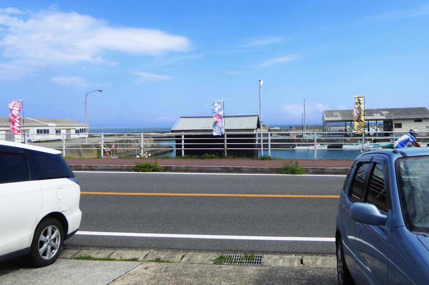 千田港の風景