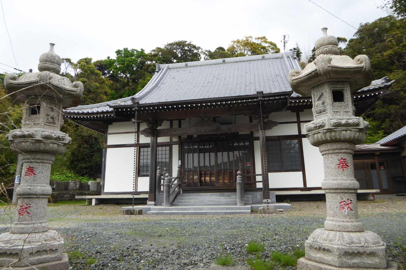 昌龍寺の本堂の画像