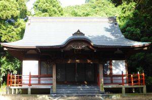打墨神社の拝殿の画像