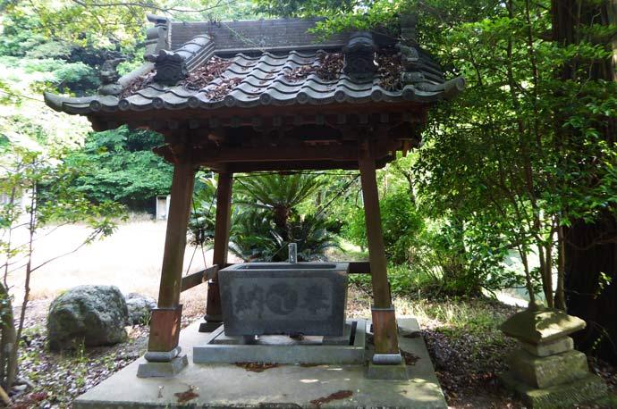 打墨神社手水舎の画像