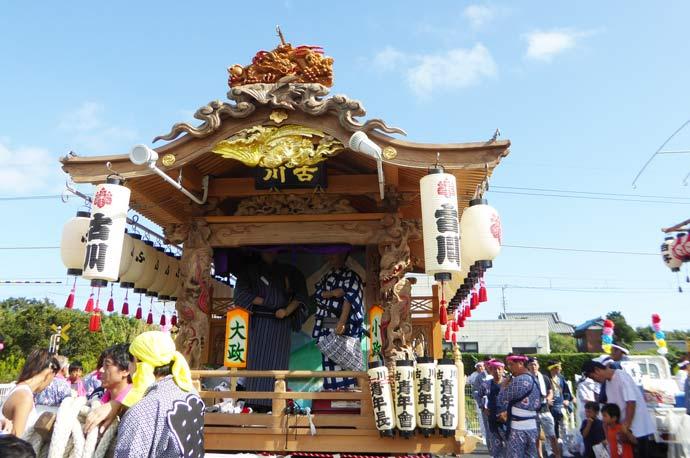 古川区の屋台の画像