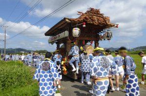 亀ヶ原の祭礼