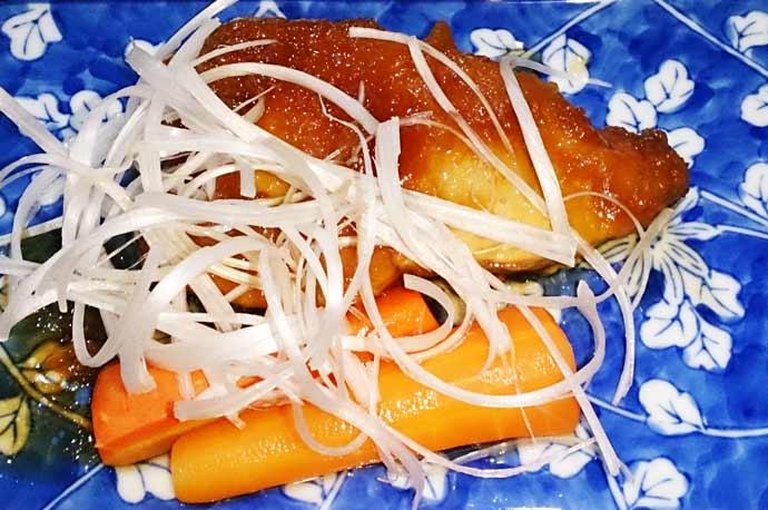 メカジキの揚げ煮の画像