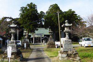 莫越山神社境内の画像
