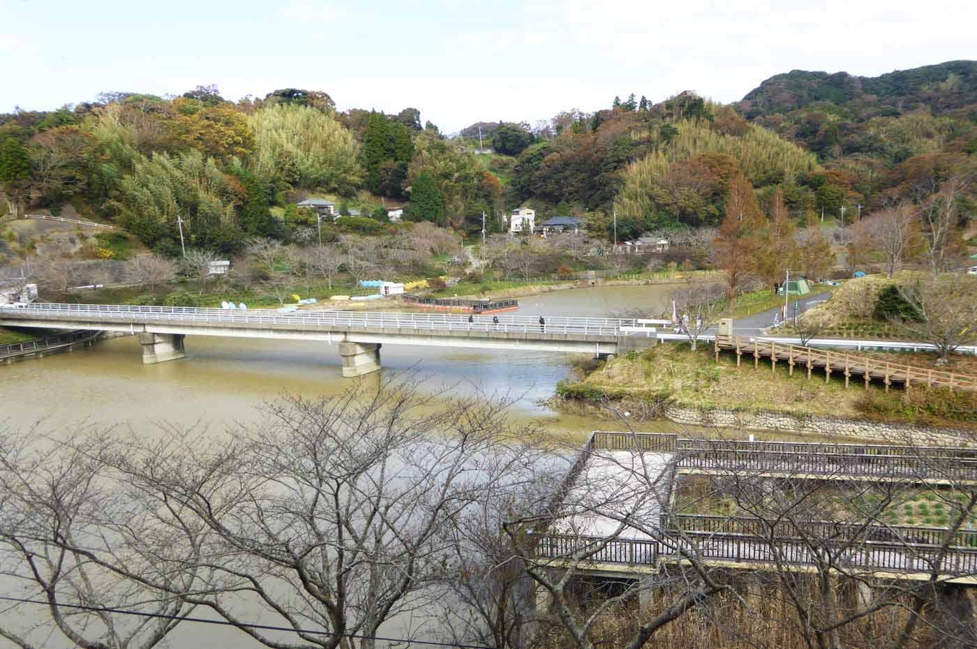 佐久間ダムの橋
