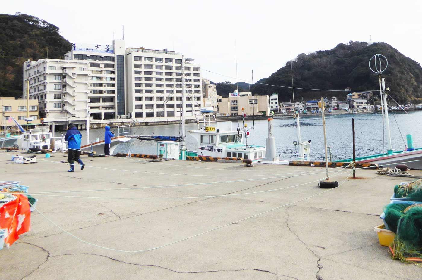 港内のポイント