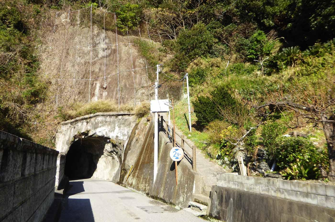 岡本城址入口の画像