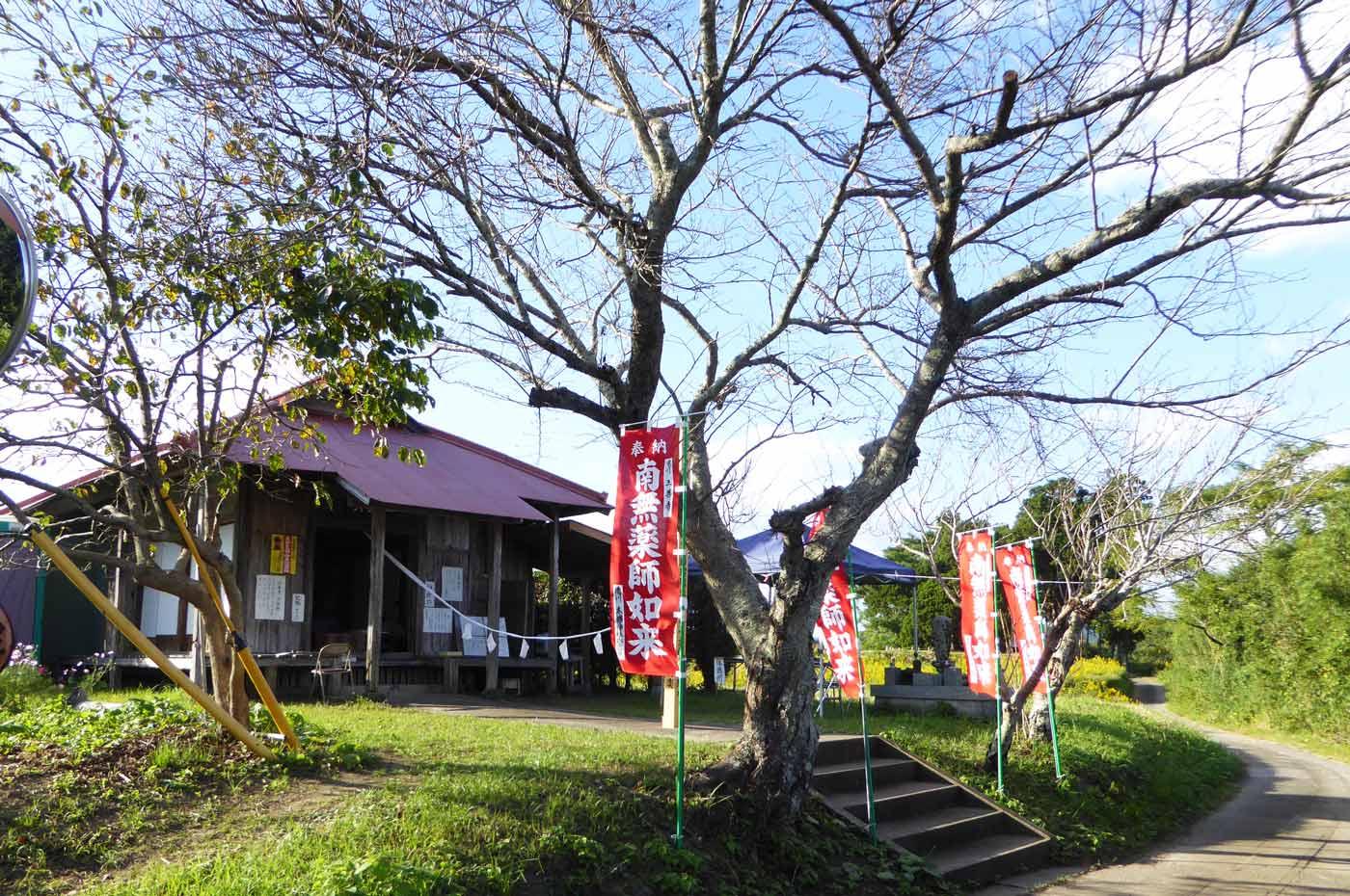 三善寺の薬師堂の画像