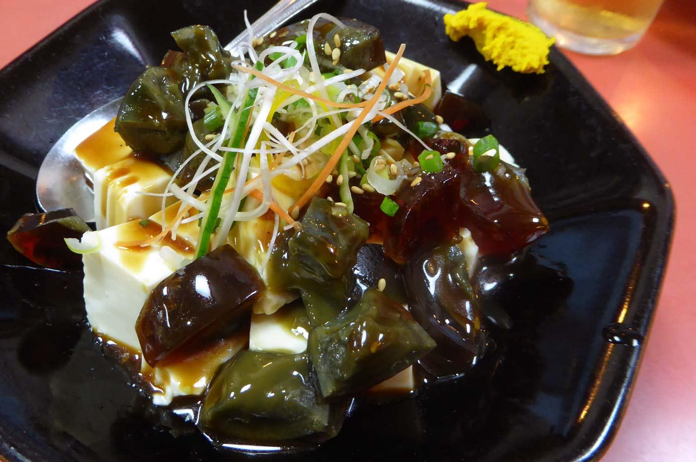 正龍のピータン豆腐の画像
