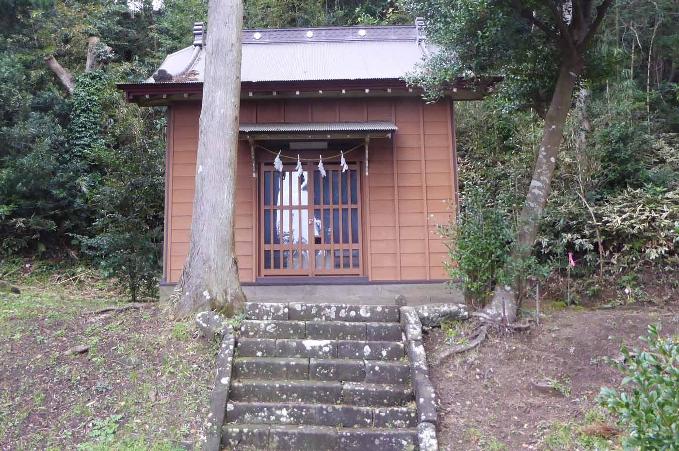 下立松原神境内の御霊白幡神社の画像