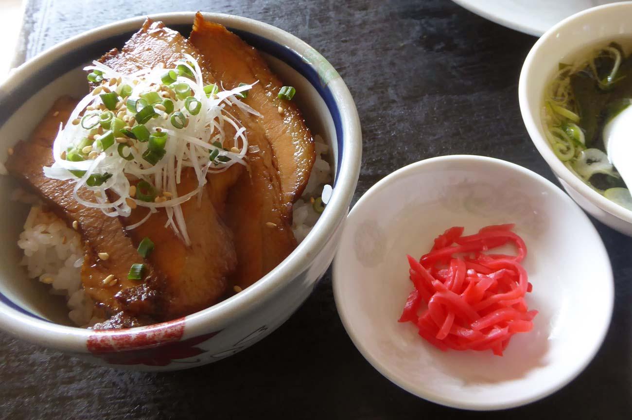 麺屋ちゃいなはうすのチャーシュー御飯の画像