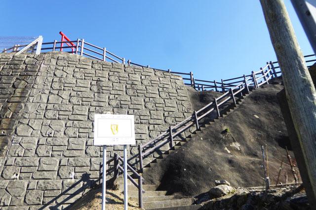稲荷大明神入口階段の画像