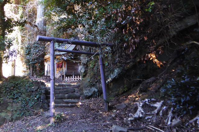厳島神社の鳥居の画像