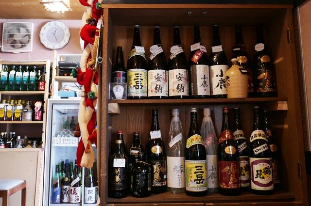 きよ都の酒と焼酎の画像