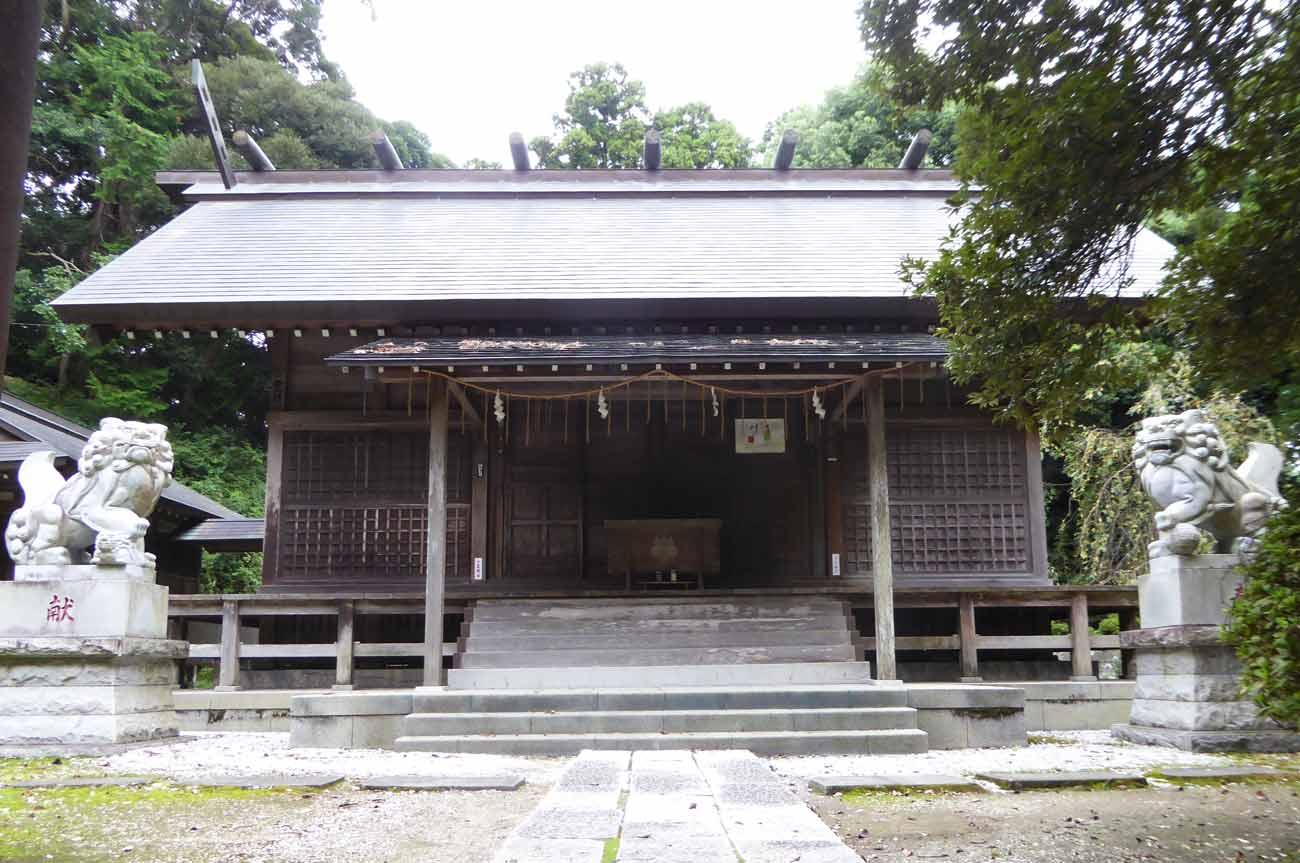 莫越山神社拝殿の画像