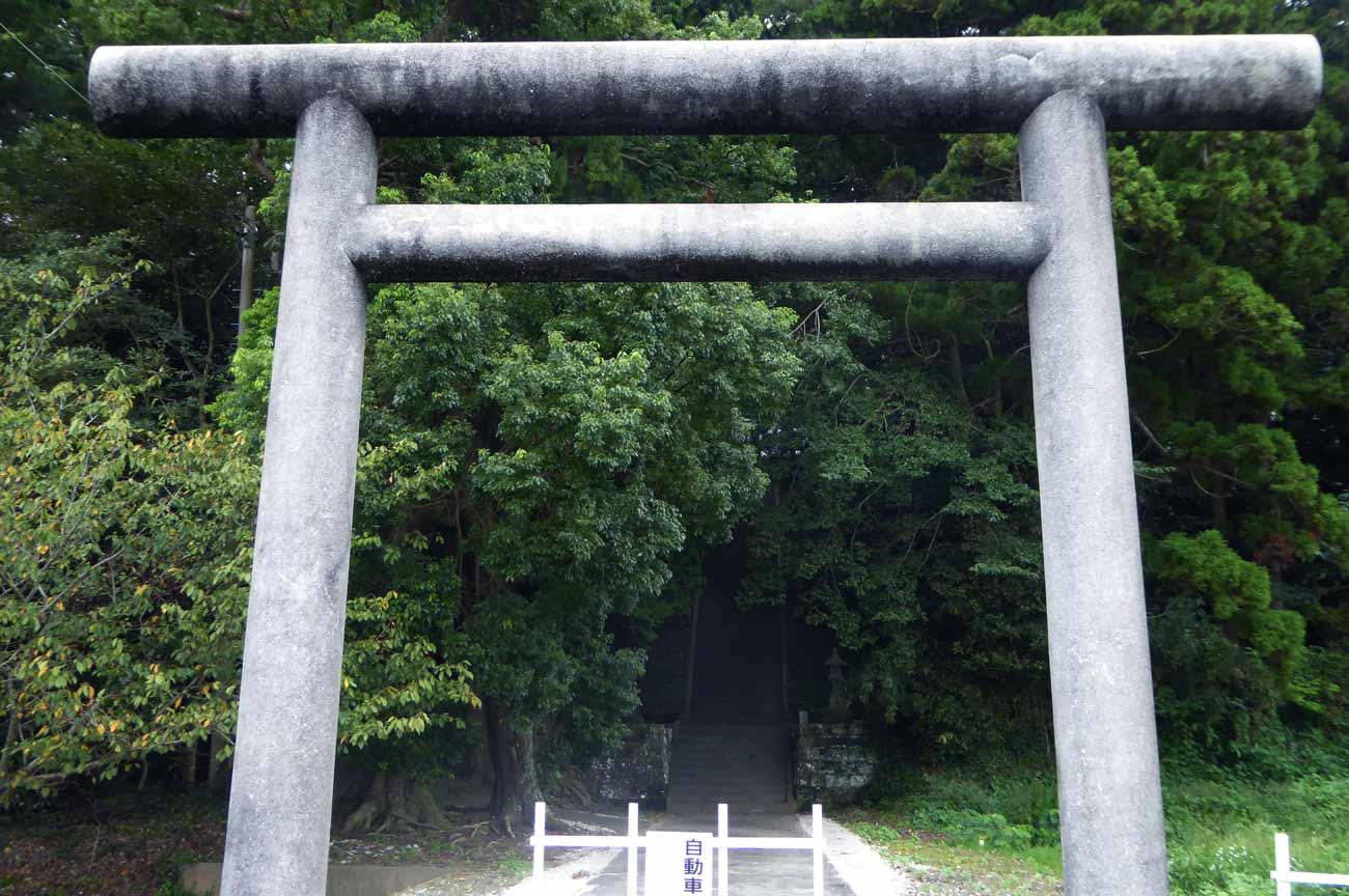 莫越山神社二の鳥居の画像