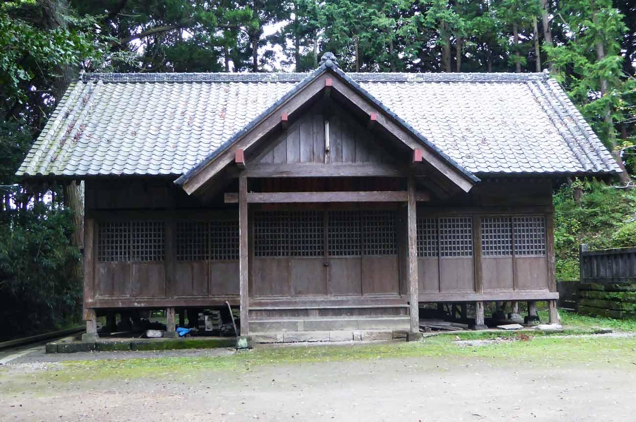 莫越山神社社務所・神輿倉の画像