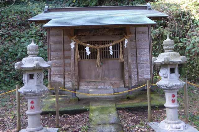 十二天神社本殿の画像