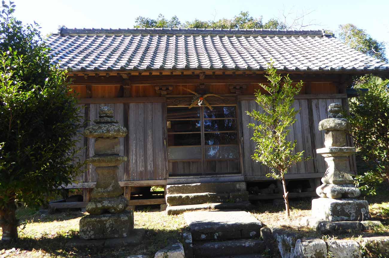 理性院裏の八雲神社の画像