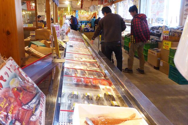 南房総道楽園 魚鷹の鮮魚コーナーの画像