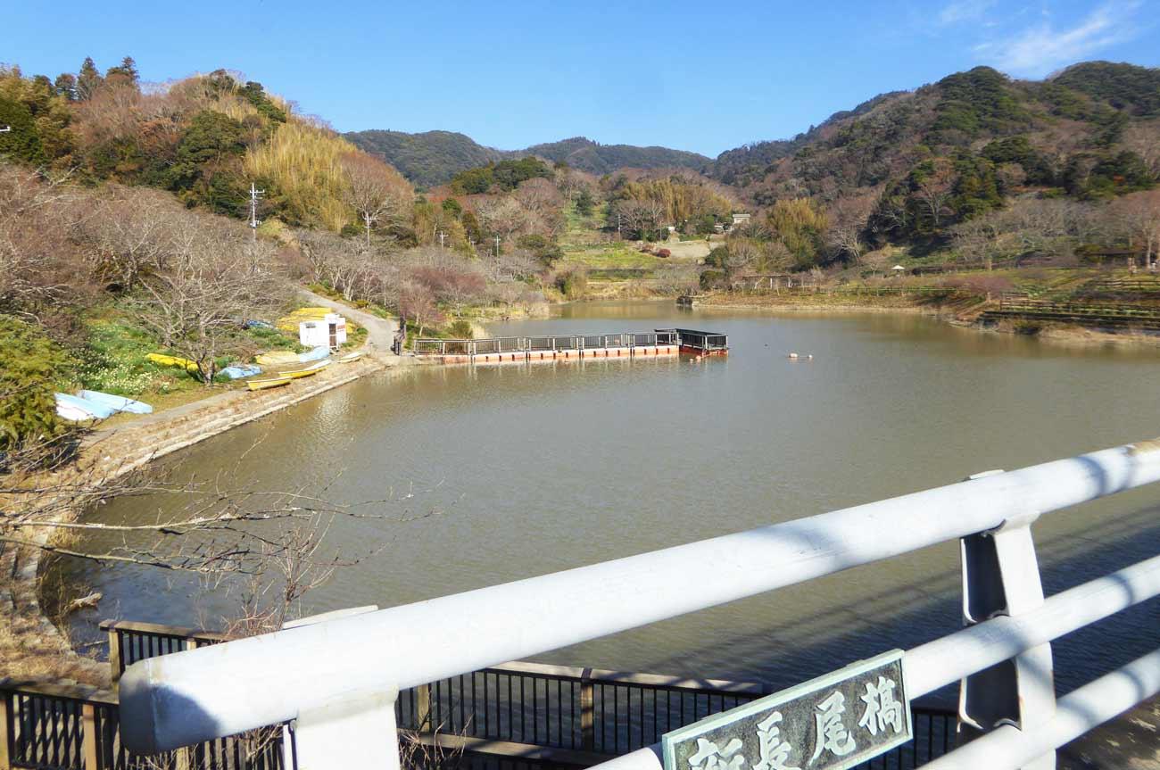 佐久間ダムのボート乗り場の画像
